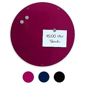 Magn-it - Pizarra magnética (circular), color negro, color frutas ...