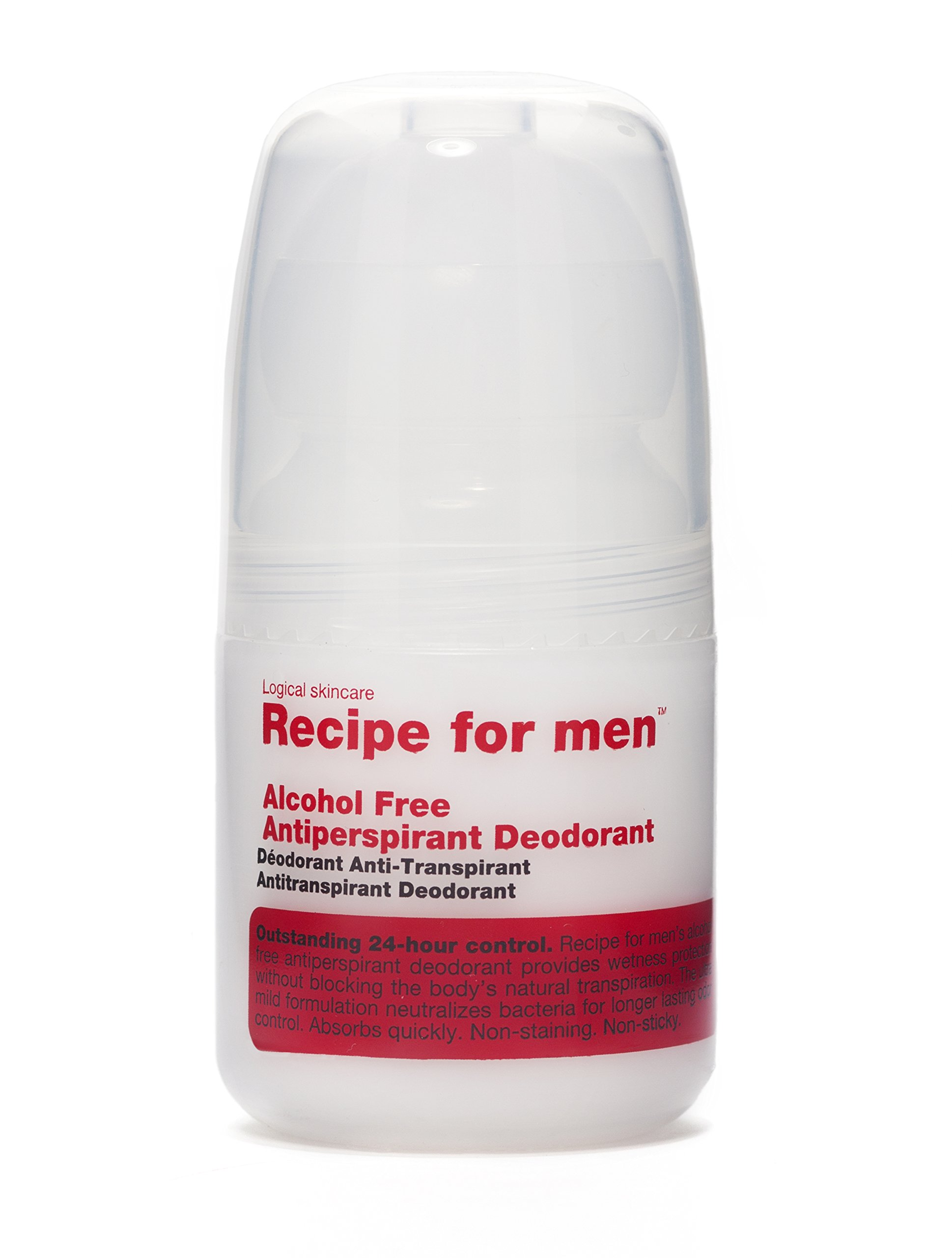 Recipe for Men Antiperspirant Deodorant, 2 Fl Oz by Recipe for Men
