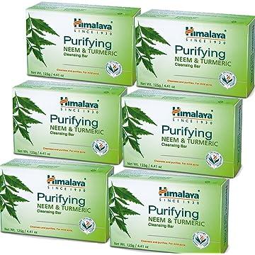 Himalaya Purifying Neem & Turmeric Cleansing Bar