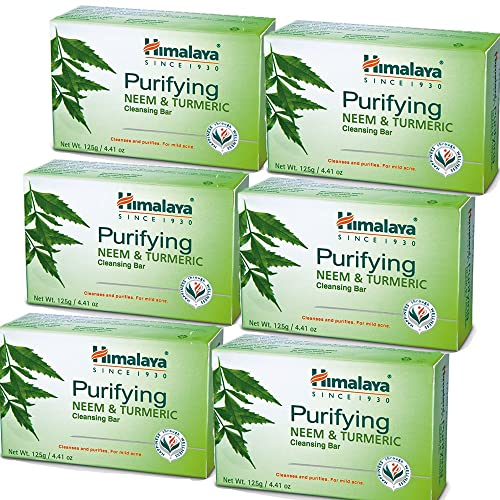 Himalaya Purifying Neem & Turmeric Cleansing Bar