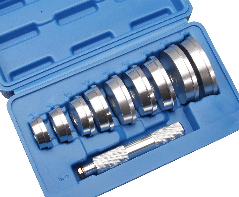 Herkules Werkzeuge 10 Tlg Buchsen Simmering Eintreiber Austreiber Lagertreibsatz Lager Treibsatz Auto