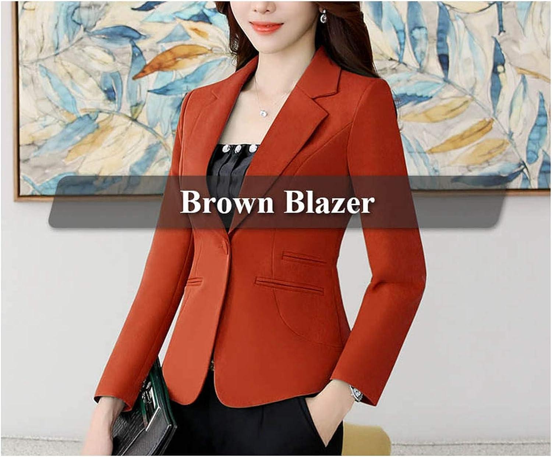 Women Fashion Suit Blazers Coats OL Business Formal Blazer for Office Ladies
