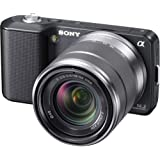 Sony NEX-3K Digital Camera 14.2MP w/18-55mm F3.5-5.6 Interchangeable Lens| Black