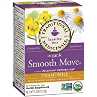Traditional Medicinals Organic Smooth Move Chamomile 16 Ct (Pack of 1)