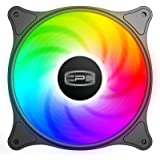 CP3 Case Fans 120mm 3-Pin Fixed Color High Performance PC Case Fan Low Noise LED Computer Fan with Hydraulic Bearing for Gami