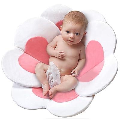 Buy Baby Bath Flower Sink Insert Baby Bath Lotus Soft Kitchen Sink Bath Petal Baby Girl Shower Flower Quick Dry Pink Online In Poland B08p5nfngb