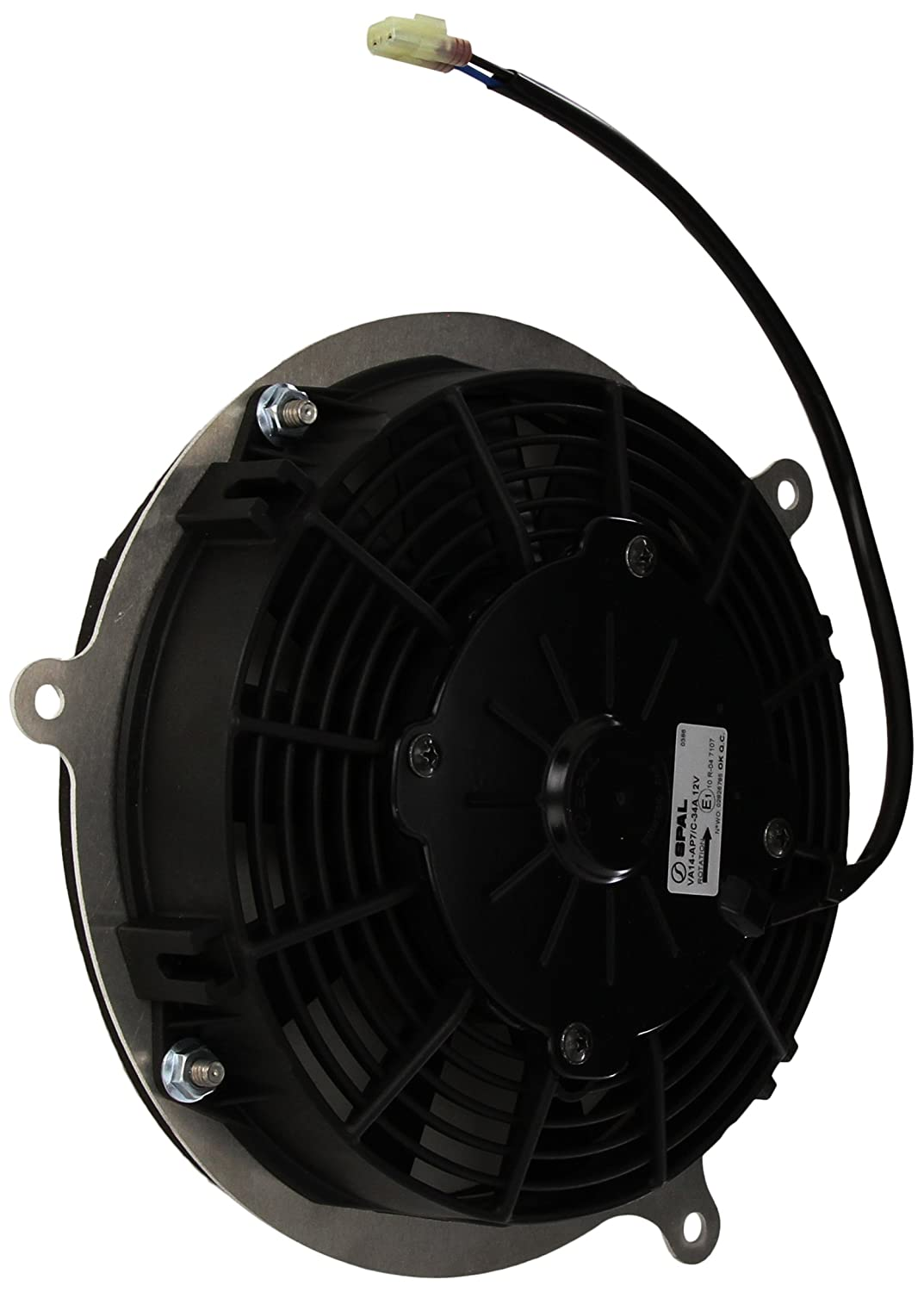 Universal Parts Z5000 Cooling Fan for Kawasaki KFX700/KFX700 V-Force