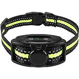 Flittor Bark Collar, NO Shock Anti Barking Dog Collars with Rechargeable Adjustable Sensitivity and Intensity Beep…