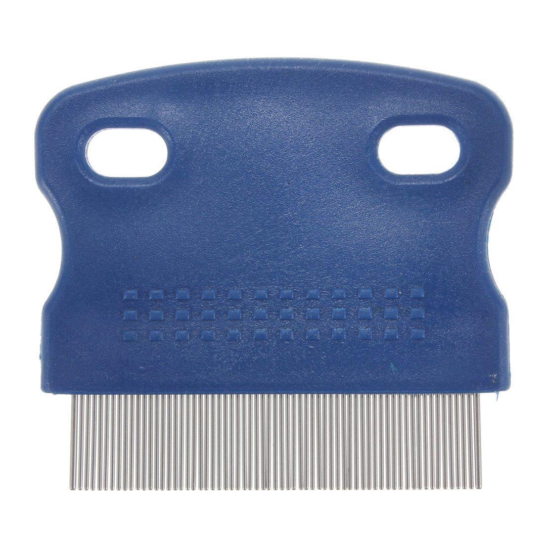 pet comb - SODIAL(R) Dog brush dog comb flea comb lice comb nit comb fur comb pet comb grooming