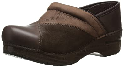 Dansko Women's Patchwork Pro Mule,Brown,37 EU/6.5-7 ...