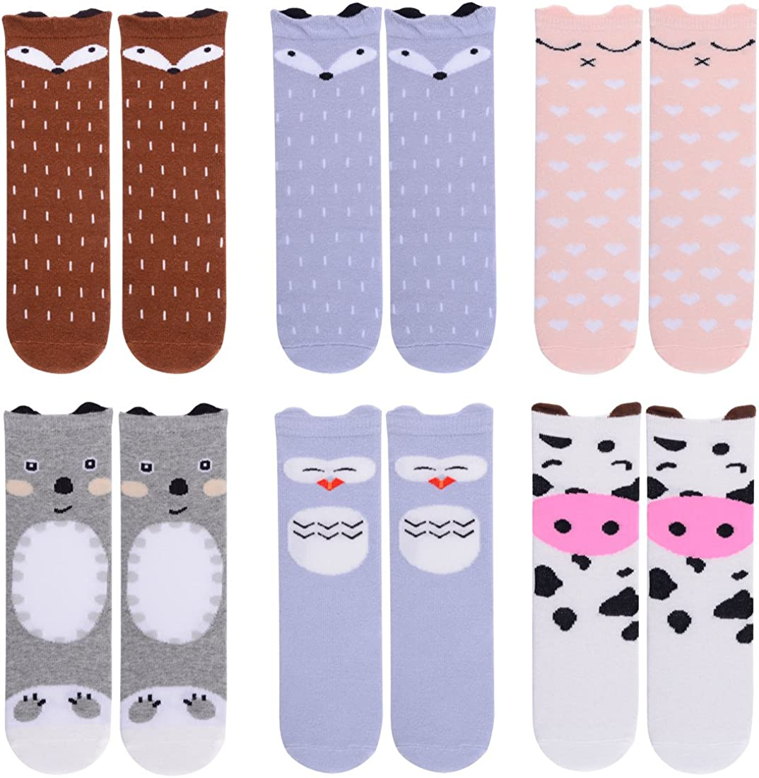Buy-Box Baby Boys Girls Cotton Socks Polka Dot Loose Anti Slip Knit Sock Boots