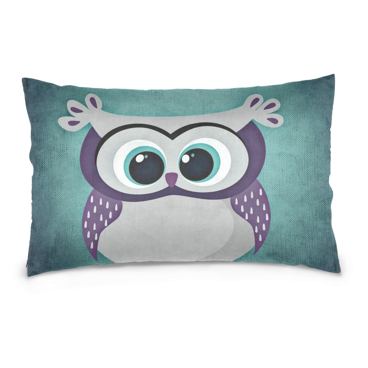 THENAHOME Pillow Covers Pillow Protectors Bed Bug Dust Mite Resistant Standard Pillow Cases Cotton Sateen Allergy Proof Soft Quality Covers with Cartoon Animal Owl for Bedding