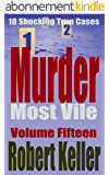 Murder Most Vile Volume 15: 18 Shocking True Crime Murder Cases (True Crime Murder Books) (English Edition)
