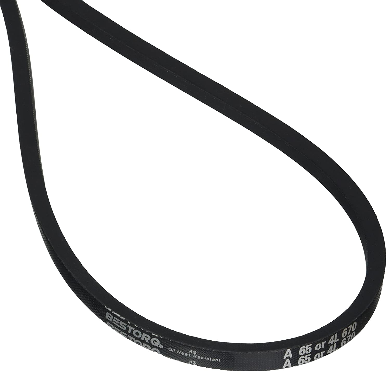 Rubber D/&D PowerDrive A85//4L870 V Belt A//4L 1//2 x 87 OC