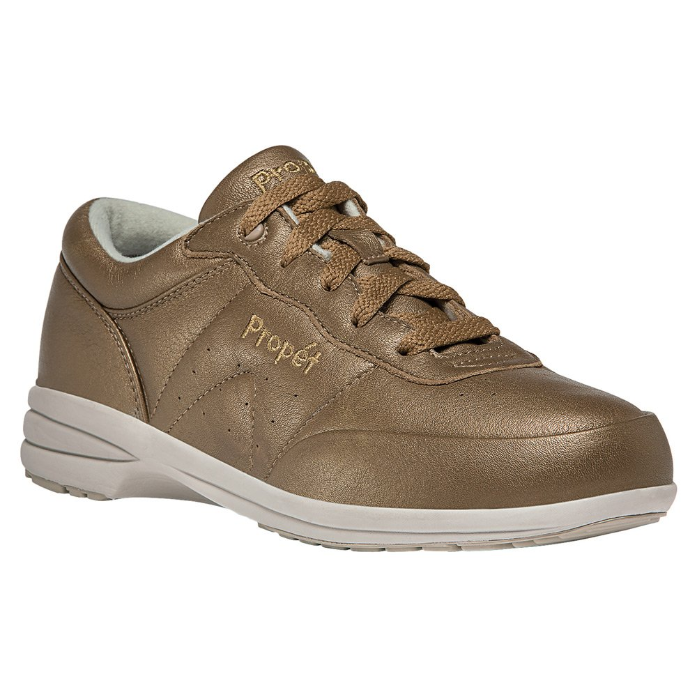 Propet Women's Washable Walker Sneaker B019S1EQRE 8 Slim US|Bronze