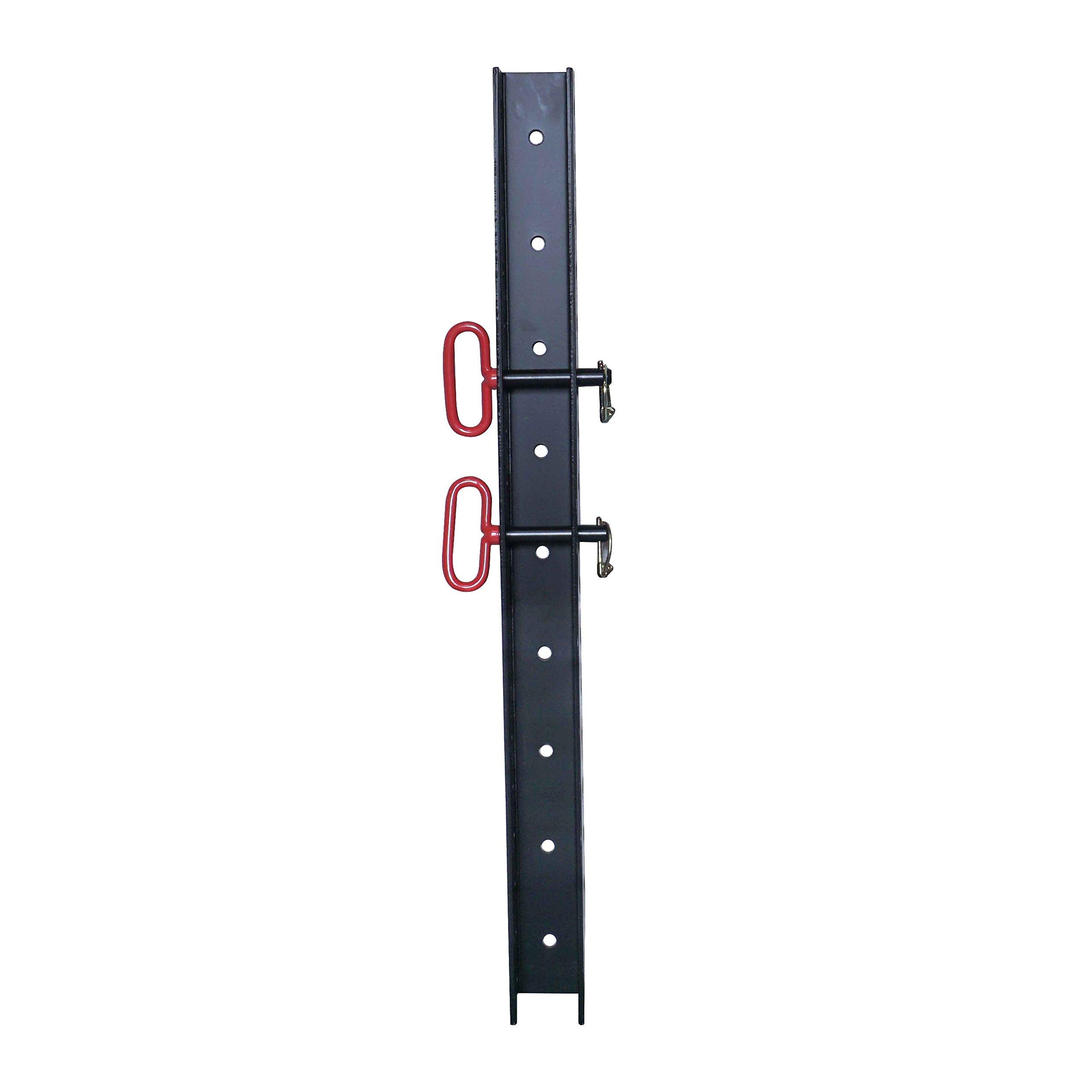 3'' x 3'' Wall Storage Strip for Titan X-3 Power Rack Accessories & Attachment