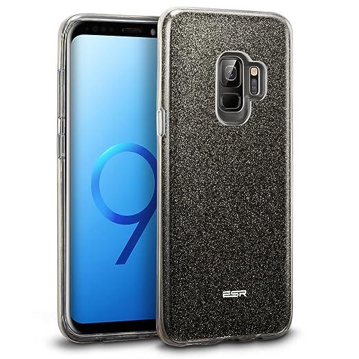 ESR Funda para Samsung S9, Blindada Brillante[Protección a Bordes y Cámara] para Samsung Galaxy S9 de 5,8