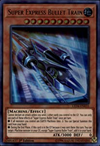 Yu-Gi-Oh! - Super Express Bullet Train - LED4-EN035 - Legendary Duelists: Sisters of The Rose - 1st Edition - Ultra Rare