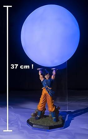 Lampe D Ambiance Son Goku Genkidama Size Xl Amazon Fr Luminaires