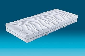 Hn8 Vision Plus colchón de Espuma fría con núcleo en Re * Flex Duo Adaptador y 7 Zonas (Water Lily®, H3, 140 x 220 cm: Amazon.es: Hogar