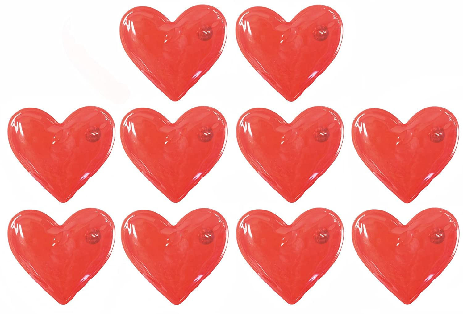 Reusable Gel Hand Warmers Red Heart Shaped Large Hand Warmers Hot Pods 1