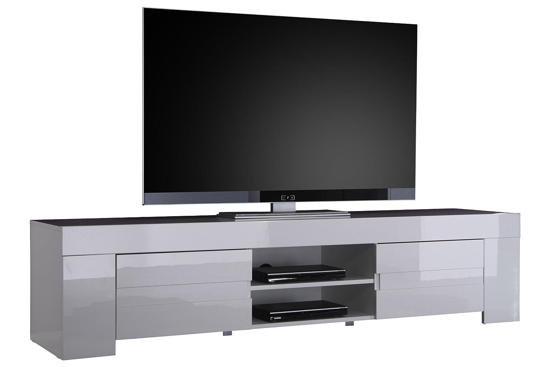 TV EOS Grande Armadio a 2 Ante, 190 x 45 x 50 cm, Bianco Lucido 190x 45x 50cm LC spa 209065-01