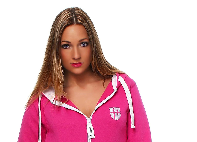 Hoppe Gennadi Damen Jumpsuit Onesie Jogger Einteiler Overall Jogging Anzug Trainingsanzug Slim FIT