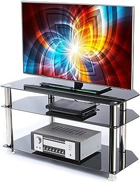 WarmieHomy - Soporte para televisor (3 estantes, para televisor ...
