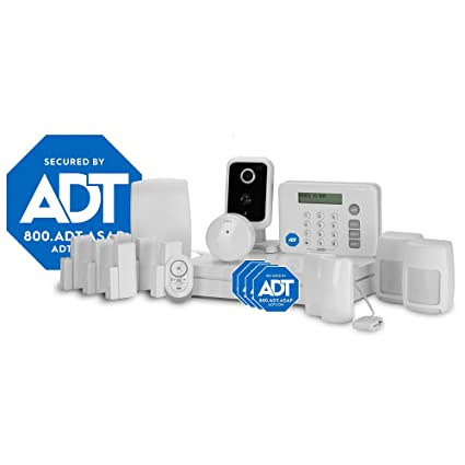 LifeShield, an ADT Company - 18-Piece Easy, DIY Smart Home Security System - Optional 24/7 Monitoring - Smart Camera - No Contract - Wi-Fi Enabled - ...