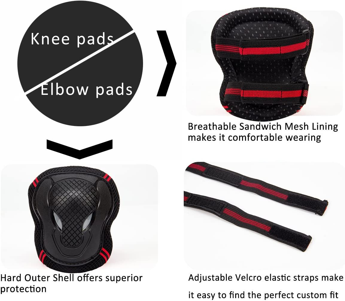 Ventura Knee//Elbow And Hand Protector Set
