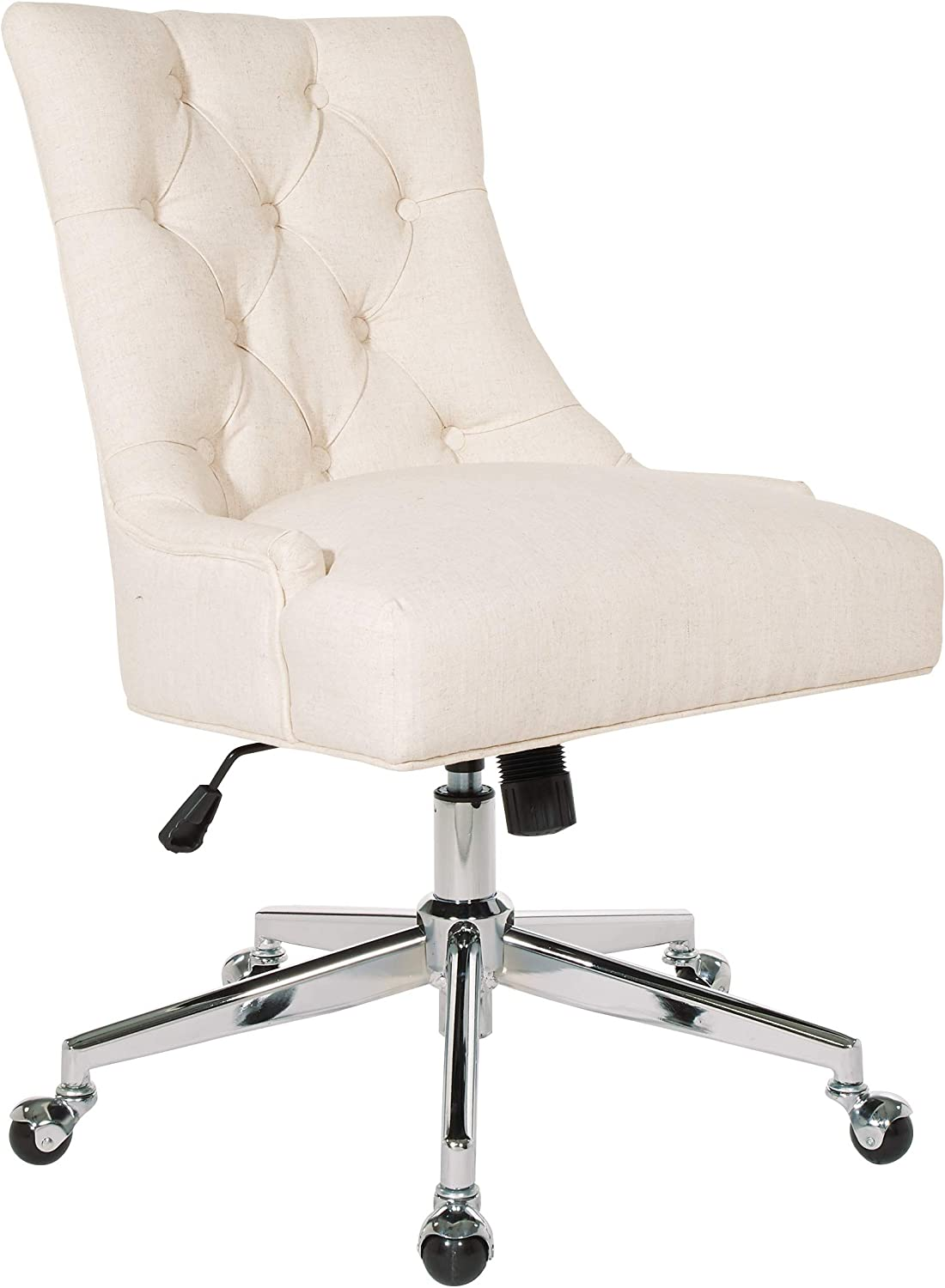 OSP Home Furnishings Amelia Office Chair, Linen