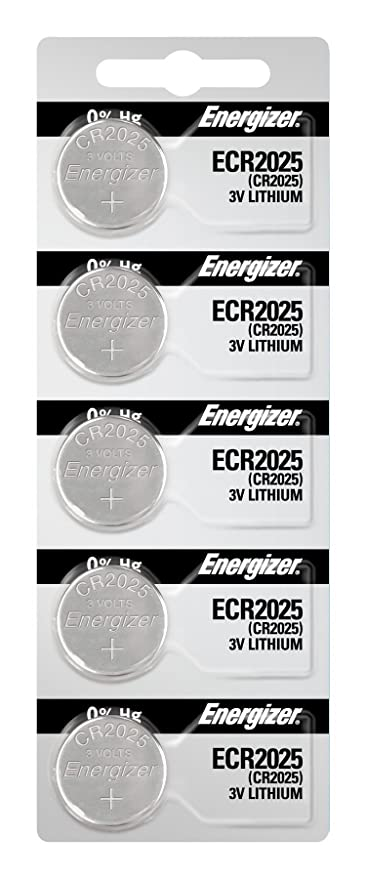 CR2025 Energizer Lithium Batteries (1 pack of 5): Amazon in: Home