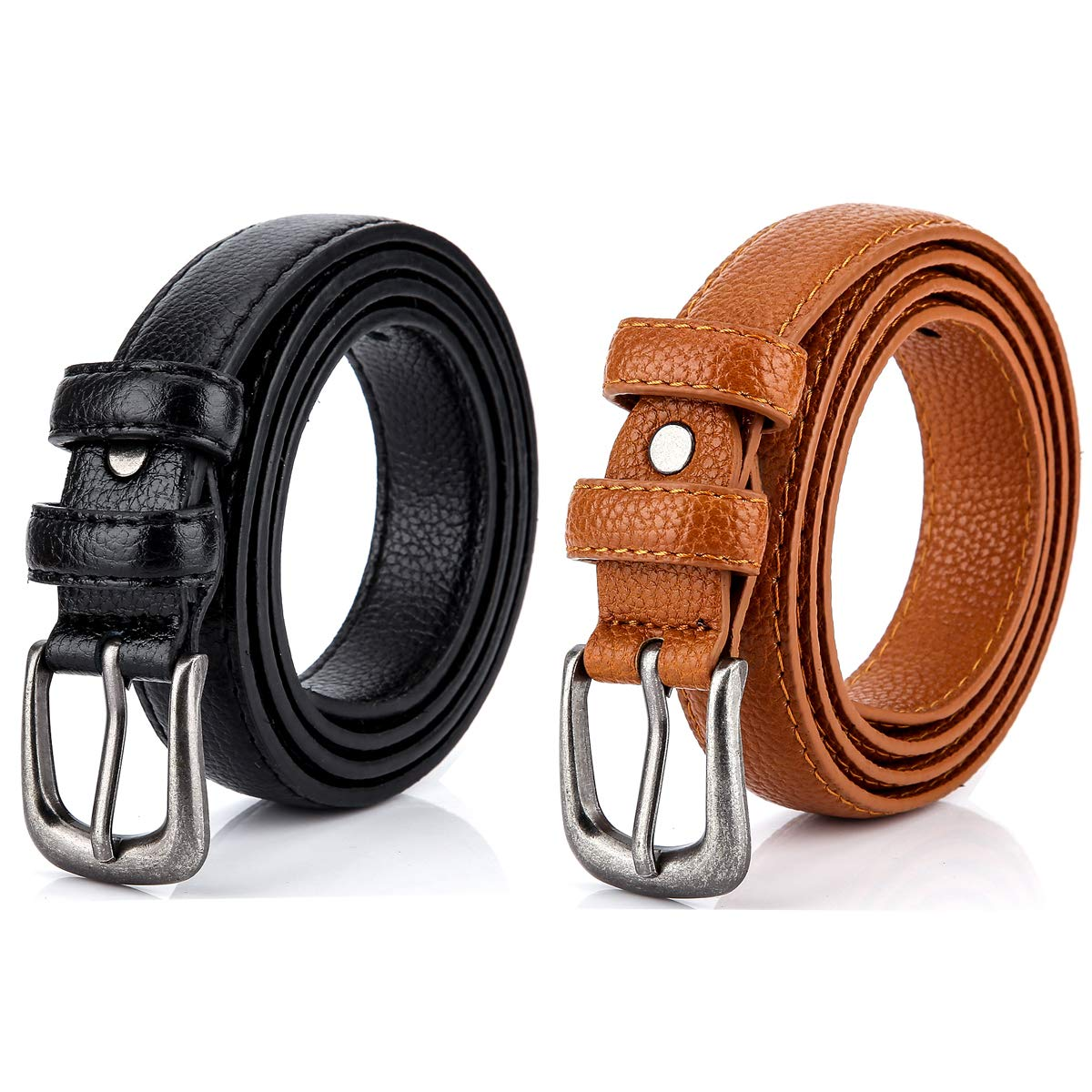 Women Belts Pack Of 2...