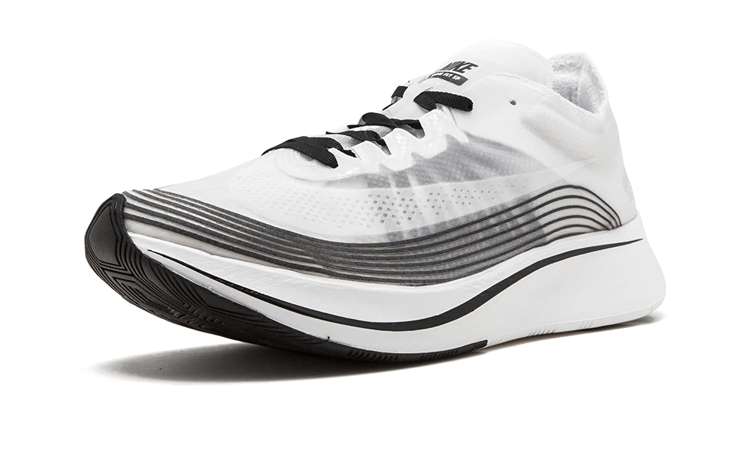 White, black-summit white Nike Mens Zoom Fly SP Lightweight Trainer Running shoes
