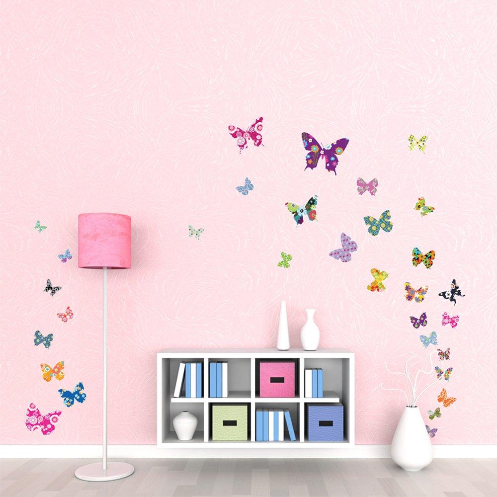 Kinderzimmer ideen f r m dchen schmetterling for Bilder kinderzimmer