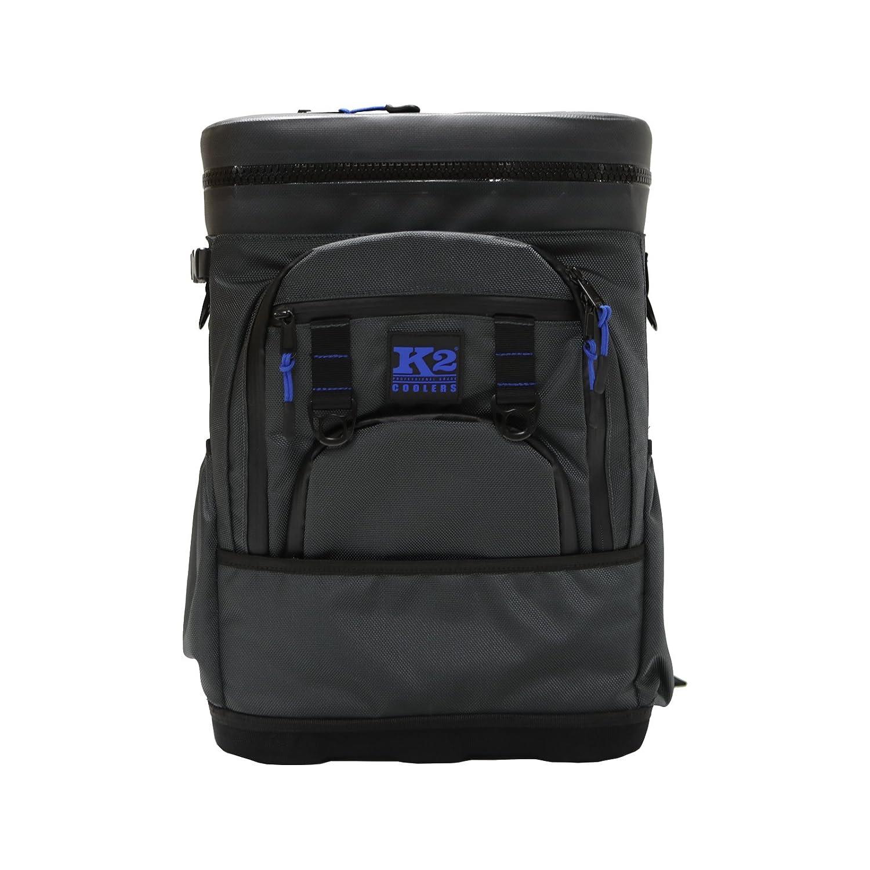K2 Coolers Sherpa Backpack Cooler, Dark Grey