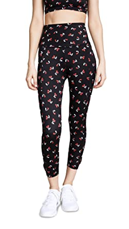 f8021c2022442 Kate Spade New York x Beyond Yoga Womens Cinched Side Bow Capri Leggings  Tricolor Cherries LG