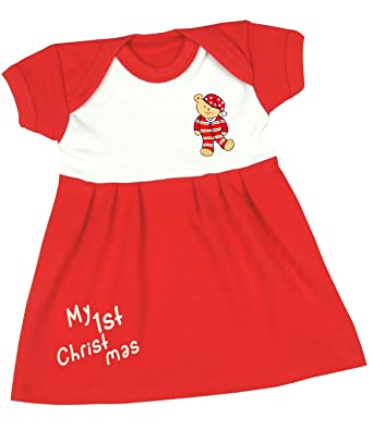 aac64836a9b5 BabyPrem Premature Baby Dress Red Clothes 5.5-7.5lb My 1st Christmas ...