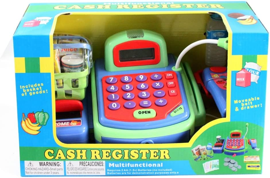 Just Like Home Cash Register - Green