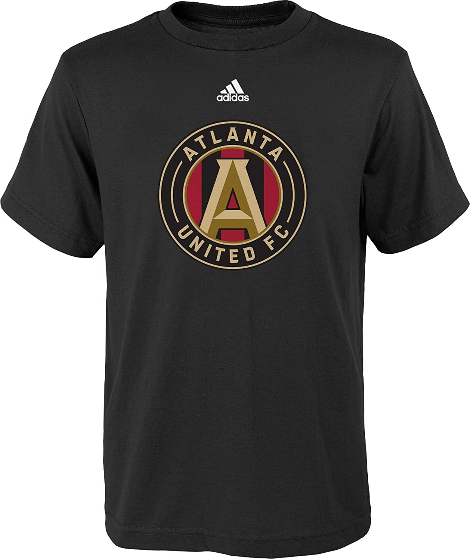【限定品】 Adidas Youth Youth Atlanta United United BigロゴブラックTシャツ Medium Medium B075Z5FL3M, 食器とお弁当箱のお店【SOERU】:ef76263f --- narvafouette.eu