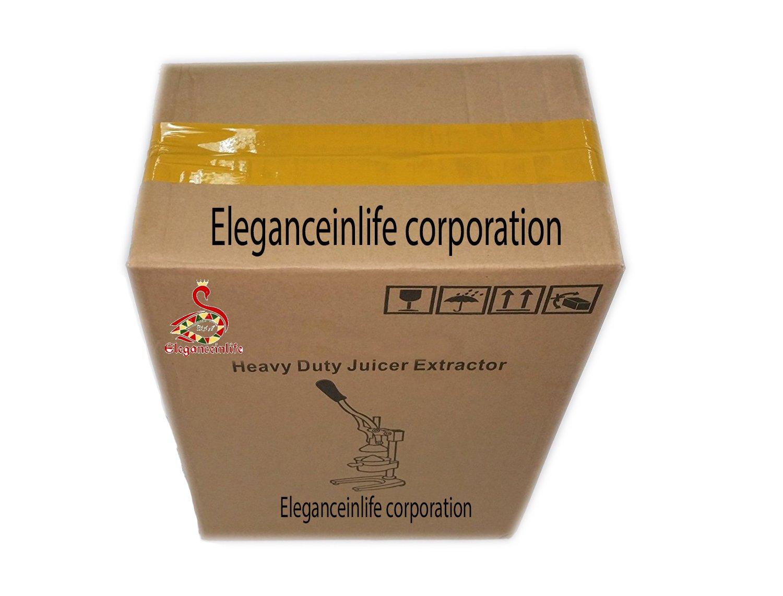 Comercial exprimidor por eleganceinlife Manual exprimidor Heavy Duty para naranjas limones limas y Granada, diseño de pomelo: Amazon.es: Hogar
