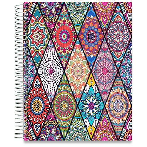 - July 2019-2020 Planner - Dated July 2019- July 2020-8.5 x 11 Hardcover - by Tools4Wisdom