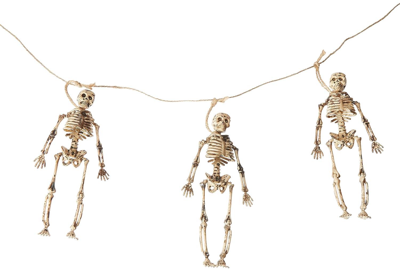 Amazon.com: Guirnalda de Esqueleto: Jardín y Exteriores