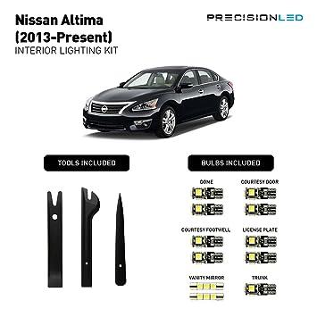 nissan altima 2013 interior. precision led 2013 2016 nissan altima interior lighting kit with install tools 6000k