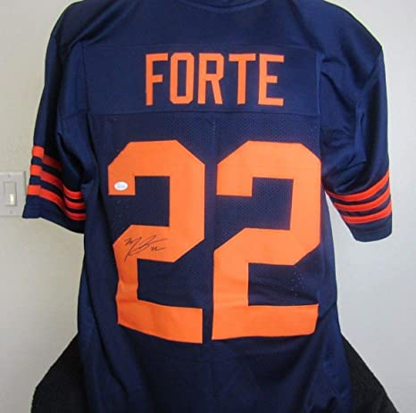 pretty nice 5956a 2f9c5 Matt Forte autographed signed Chicago Bears Jersey at ...