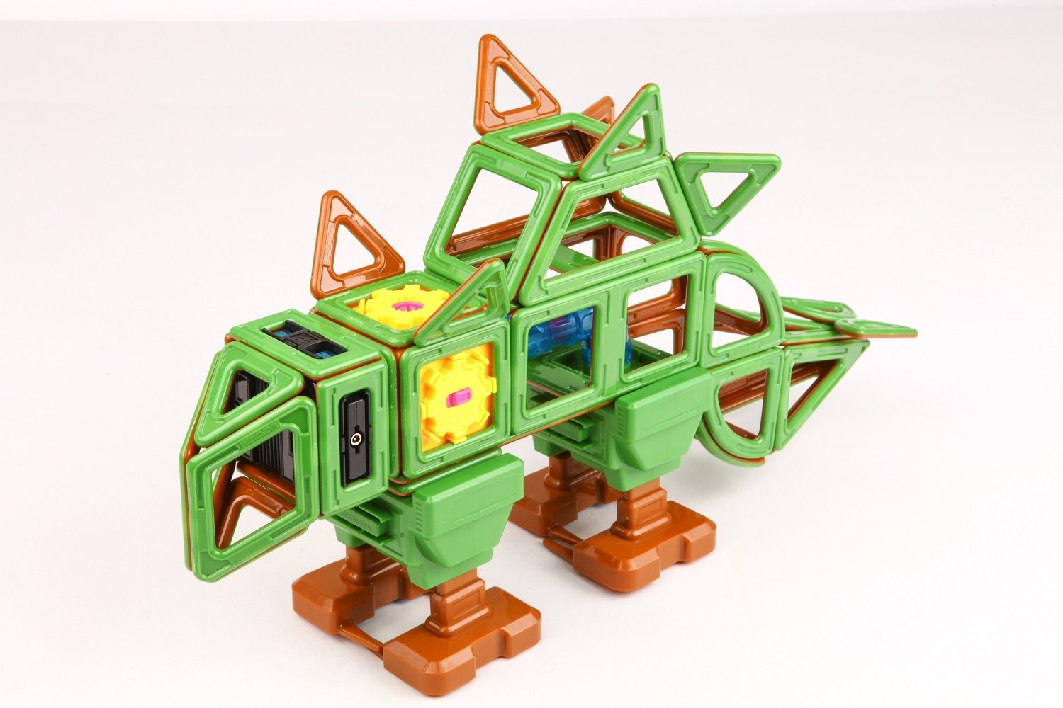 Magformers ''Walking Dinosaur Magnetic Toy (81-Piece) by Magformers (Image #3)