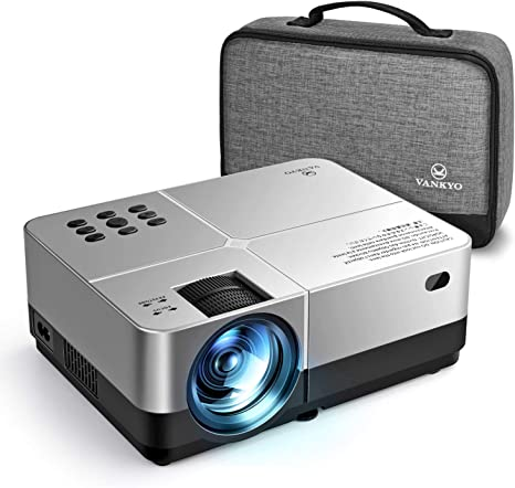 VANKYO Leisure 420 Mini Projector, 3800 Lux Portable Home Movie Cinema, 1080P Supported, 200 Projection Size, Compatible w/ PS4, Xbox, HDMI for ...