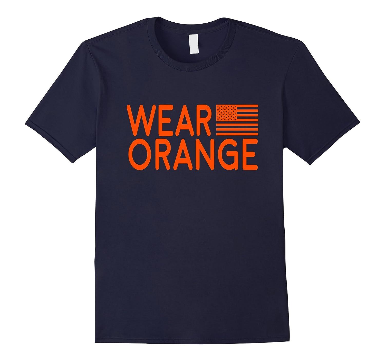 Wear Orange American Apparel Tee shirt-Art