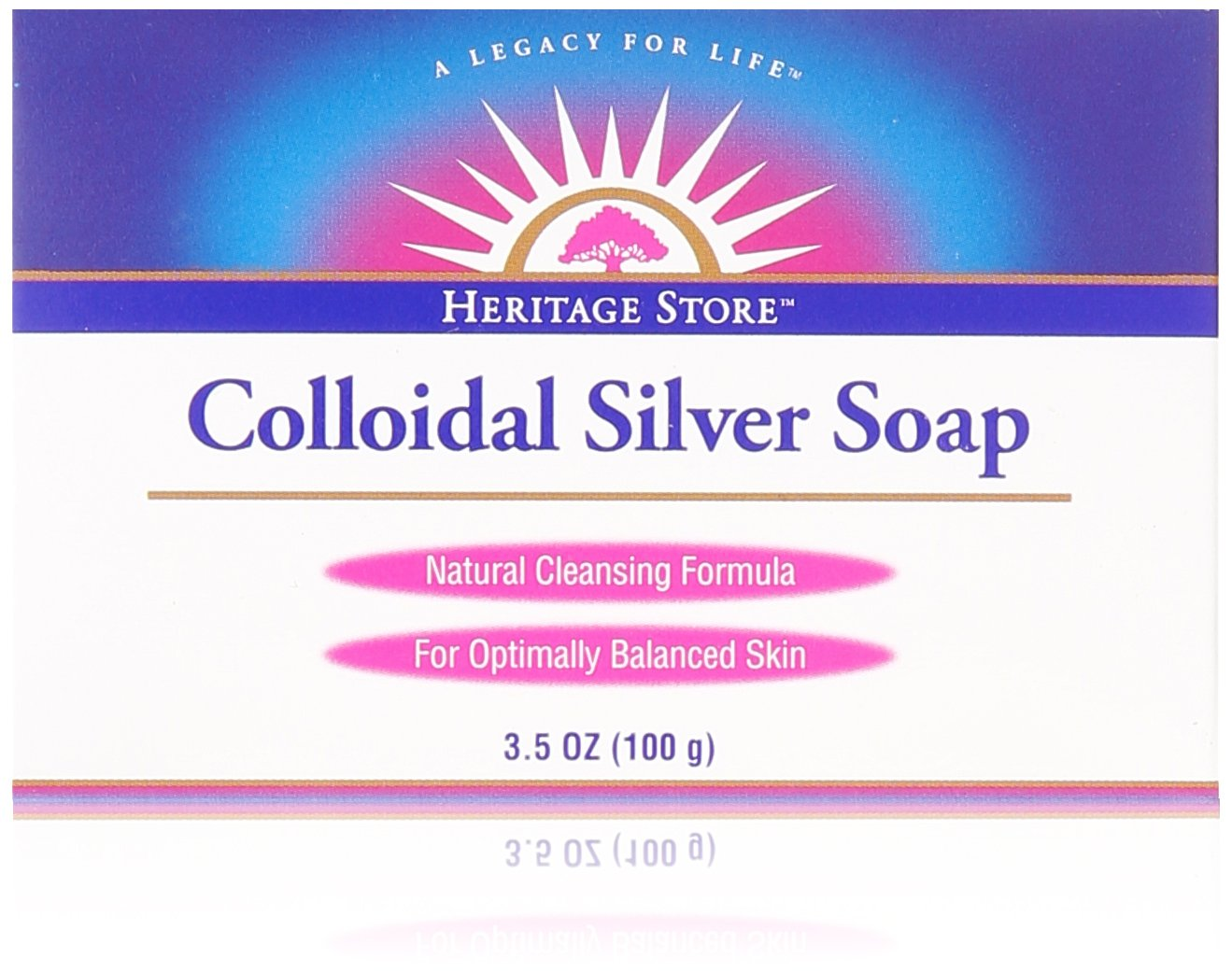 Heritage Products Colloidal Silver Soap - 3.5 oz 076970776481