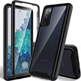 HATOSHI Samsung Galaxy S20 FE 5G Case, Galaxy S20 FE 5G UW Case with Built in Screen Protector, Heavy Duty Protection, Crysta
